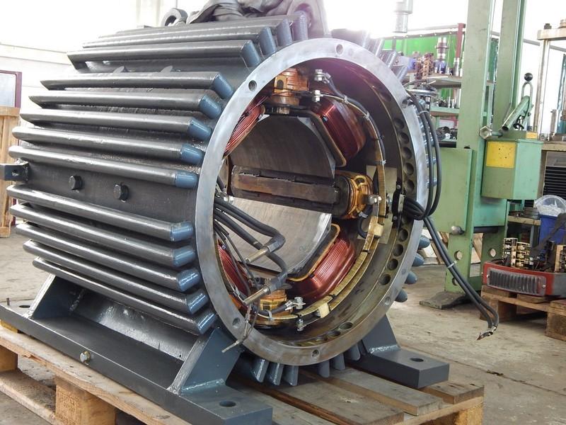 Gleichstrom Kranmotor